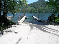 Stave Lake Boat Launch Ramp