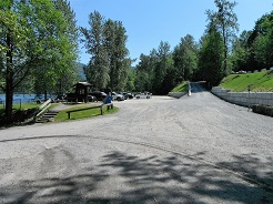 Stave Lake Parking and Boat Ramp