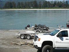 Agassiz boat launch